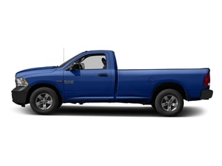 Blue Streak Pearlcoat 2016 Ram Truck 1500 Pictures 1500 Regular Cab Express 2WD photos side view