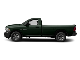 Black Forest Green Pearlcoat 2016 Ram Truck 1500 Pictures 1500 Regular Cab Express 2WD photos side view