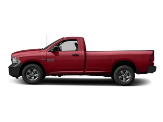 Flame Red Clearcoat 2016 Ram Truck 1500 Pictures 1500 Regular Cab Express 2WD photos side view