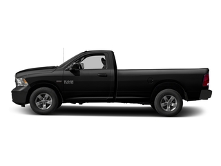 Brilliant Black Crystal Pearlcoat 2016 Ram Truck 1500 Pictures 1500 Regular Cab Express 2WD photos side view