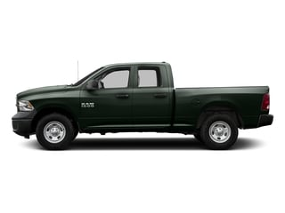 Black Forest Green Pearlcoat 2016 Ram Truck 1500 Pictures 1500 Quad Cab Tradesman 4WD photos side view