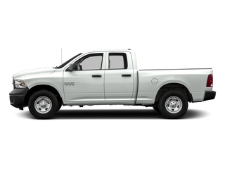 Bright White Clearcoat 2016 Ram Truck 1500 Pictures 1500 Quad Cab Tradesman 2WD photos side view