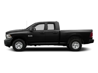 Black Clearcoat 2016 Ram Truck 1500 Pictures 1500 Quad Cab Tradesman 2WD photos side view