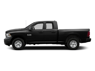 Brilliant Black Crystal Pearlcoat 2016 Ram Truck 1500 Pictures 1500 Quad Cab Tradesman 2WD photos side view