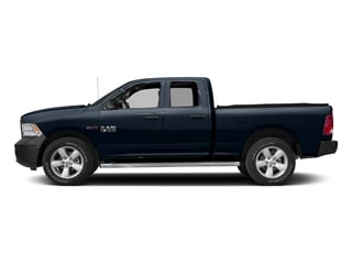 True Blue Pearlcoat 2016 Ram Truck 1500 Pictures 1500 Quad Cab HFE 2WD V6 T-Diesel photos side view