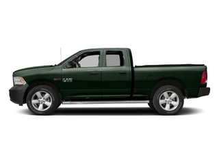 Black Forest Green Pearlcoat 2016 Ram Truck 1500 Pictures 1500 Quad Cab HFE 2WD V6 T-Diesel photos side view