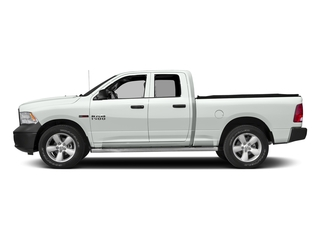 Bright White Clearcoat 2016 Ram Truck 1500 Pictures 1500 Quad Cab HFE 2WD V6 T-Diesel photos side view