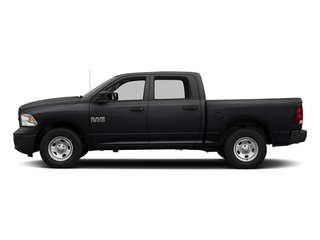 Black Clearcoat 2016 Ram Truck 1500 Pictures 1500 Crew Cab Tradesman 2WD photos side view