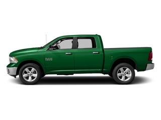 Bright Green 2016 Ram Truck 1500 Pictures 1500 Crew Cab SLT 2WD photos side view