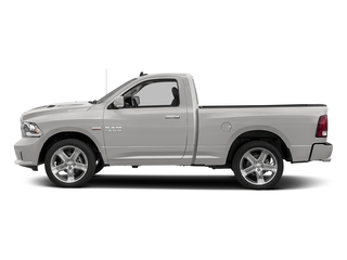 Bright Silver Metallic Clearcoat 2016 Ram Truck 1500 Pictures 1500 Regular Cab Sport 4WD photos side view