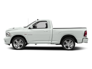 Bright White Clearcoat 2016 Ram Truck 1500 Pictures 1500 Regular Cab Sport 4WD photos side view
