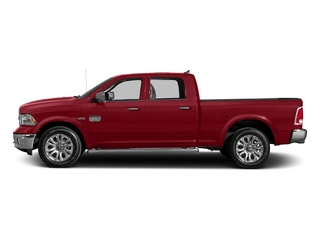 Flame Red Clearcoat 2016 Ram Truck 1500 Pictures 1500 Crew Cab Longhorn 4WD photos side view