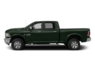 Black Forest Green Pearlcoat 2016 Ram Truck 2500 Pictures 2500 Crew Cab Laramie 2WD photos side view