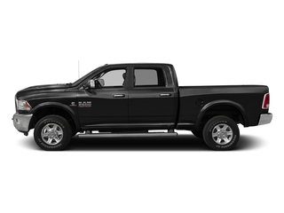 Black Clearcoat 2016 Ram Truck 2500 Pictures 2500 Crew Power Wagon Tradesman 4WD photos side view