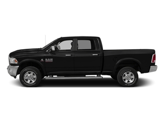Brilliant Black Crystal Pearlcoat 2016 Ram Truck 2500 Pictures 2500 Crew Cab Limited 2WD photos side view