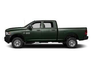 Black Forest Green Pearlcoat 2016 Ram Truck 2500 Pictures 2500 Crew Cab Tradesman 4WD photos side view