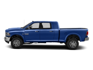 Blue Streak Pearlcoat 2016 Ram Truck 2500 Pictures 2500 Mega Cab Laramie 4WD photos side view