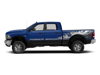 Blue Streak Pearlcoat 2016 Ram Truck 2500 Pictures 2500 Crew Power Wagon SLT 4WD photos side view