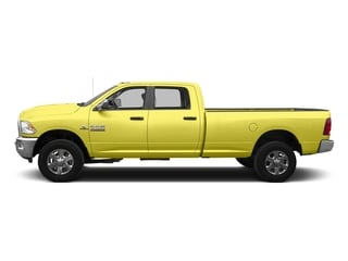 Bright Green 2016 Ram Truck 3500 Pictures 3500 Crew Cab SLT 2WD photos side view