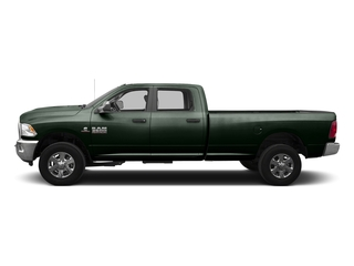 Black Forest Green Pearlcoat 2016 Ram Truck 3500 Pictures 3500 Crew Cab SLT 4WD photos side view