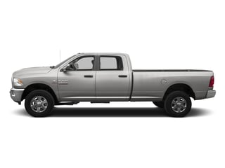 Bright Silver Metallic Clearcoat 2016 Ram Truck 3500 Pictures 3500 Crew Cab SLT 4WD photos side view