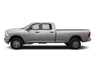 Bright Silver Metallic Clearcoat 2016 Ram Truck 3500 Pictures 3500 Crew Cab SLT 2WD photos side view