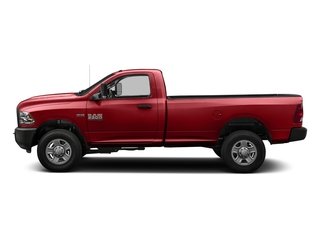 Bright Red 2016 Ram Truck 3500 Pictures 3500 Regular Cab SLT 2WD photos side view