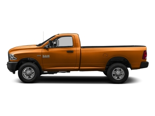 Omaha Orange 2016 Ram Truck 3500 Pictures 3500 Regular Cab SLT 2WD photos side view
