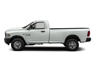 Bright White Clearcoat 2016 Ram Truck 3500 Pictures 3500 Regular Cab SLT 2WD photos side view