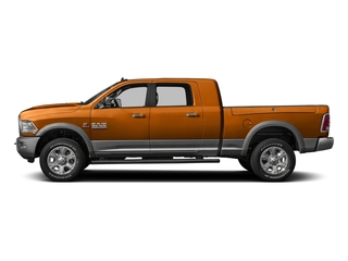 Omaha Orange 2016 Ram Truck 3500 Pictures 3500 Mega Cab SLT 2WD photos side view