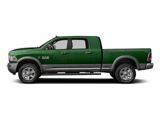 Tree Green 2016 Ram Truck 3500 Pictures 3500 Mega Cab SLT 2WD photos side view