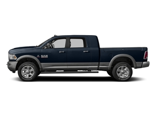 True Blue Pearlcoat 2016 Ram Truck 3500 Pictures 3500 Mega Cab Laramie 2WD photos side view