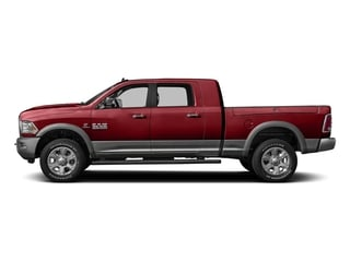 Flame Red Clearcoat 2016 Ram Truck 3500 Pictures 3500 Mega Cab Laramie 2WD photos side view