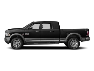Brilliant Black Crystal Pearlcoat 2016 Ram Truck 3500 Pictures 3500 Mega Cab Laramie 2WD photos side view
