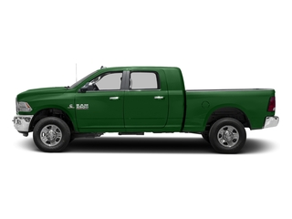 Tree Green 2016 Ram Truck 3500 Pictures 3500 Mega Cab SLT 4WD photos side view
