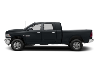 Maximum Steel Metallic Clearcoat 2016 Ram Truck 3500 Pictures 3500 Mega Cab SLT 4WD photos side view