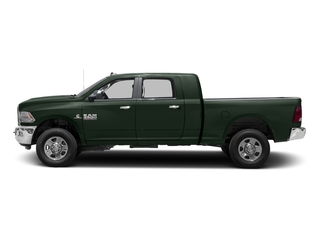 Black Forest Green Pearlcoat 2016 Ram Truck 3500 Pictures 3500 Mega Cab SLT 4WD photos side view