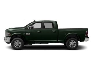 Black Forest Green Pearlcoat 2016 Ram Truck 3500 Pictures 3500 Crew Cab Laramie 2WD photos side view