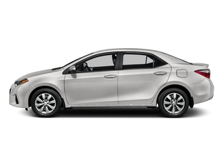 Super White 2016 Toyota Corolla Pictures Corolla Sedan 4D Special Edition I4 photos side view