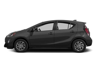 Black Sand Pearl 2016 Toyota Prius c Pictures Prius c Liftback 5D c I4 Hybrid photos side view