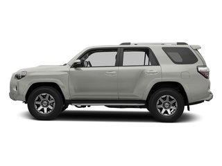 Classic Silver Metallic 2016 Toyota 4Runner Pictures 4Runner Utility 4D Trail Edition 4WD V6 photos side view