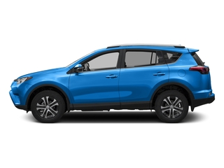 Electric Storm Blue 2016 Toyota RAV4 Pictures RAV4 Utility 4D LE 2WD I4 photos side view