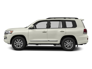 Blizzard Pearl 2016 Toyota Land Cruiser Pictures Land Cruiser Utility 4D 4WD V8 photos side view