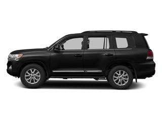Midnight Black Metallic 2016 Toyota Land Cruiser Pictures Land Cruiser Utility 4D 4WD V8 photos side view