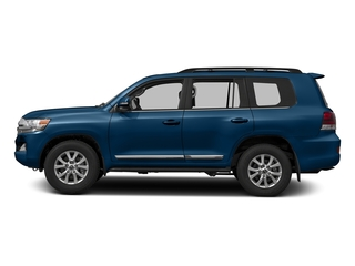 Blue Onyx Pearl 2016 Toyota Land Cruiser Pictures Land Cruiser Utility 4D 4WD V8 photos side view