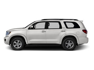 Super White 2016 Toyota Sequoia Pictures Sequoia Utility 4D SR5 2WD V8 photos side view