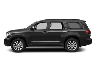 Magnetic Gray Metallic 2016 Toyota Sequoia Pictures Sequoia Utility 4D Platinum 4WD V8 photos side view