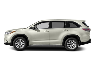 Blizzard Pearl 2016 Toyota Highlander Pictures Highlander Utility 4D LE 2WD I4 photos side view