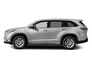 Silver Sky Metallic 2016 Toyota Highlander Pictures Highlander Utility 4D LE 2WD I4 photos side view