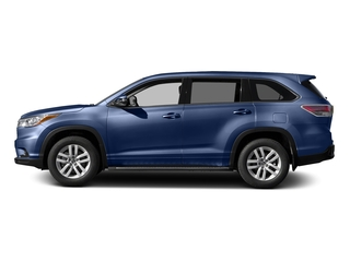 Nautical Blue Metallic 2016 Toyota Highlander Pictures Highlander Utility 4D LE 2WD I4 photos side view